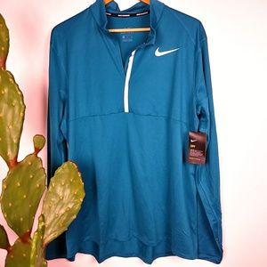 Nike half zip shirt
